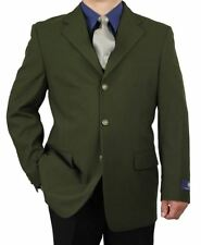Sharp Men 3B Dress Blazer Olive 36S-48L tb27