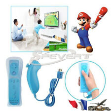 Built in Motion Plus Remote+Nunchuck Controller Joystick for Nintendo Wii &Wii U