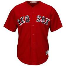 Majestic Athletic MLB Boston Red Sox Cool Base Alternate Red Jersey