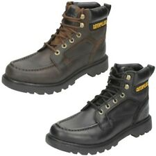Mens Caterpillar Leather Lace Up Work Boot 'Transpose'