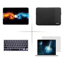 4in1 keyboard cover screen protector hard case For macbook Pro Air 11 12 13 15""