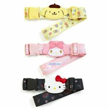JAPAN SANRIO HELLO KITTY MY MELODY POM POM PURIN NYLON LUGGAGE BELT