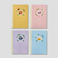 Kakao Friends Flower Note Pads Notebooks Paper Diary Journal  Lined _Small
