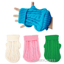 XXXS/XS chihuahua Dog Sweater Clothes Pet Cat Puppy Hoodie for yorkie toy poodle
