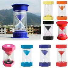 MagiDeal 1/3/5/10/15/20/30/45/60 Min Hourglass Timer Cooking Clock Home Decor