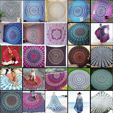 Mandala Tapestry Indian Wall Hanging Dec Bohemian Hippie Queen Bedspread Throw A