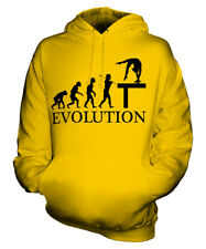 BALANCE BEAM EVOLUTION OF MAN UNISEX HOODIE MENS WOMENS LADIES GIFT GYMNASTICS