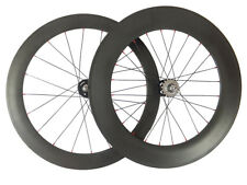 Factory Price Track Fixed Gear 60+88mm Tubular Carbon Wheels Road Bike Wheelset