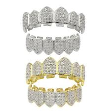 18K Gold Plated Grills Set Grills Top Bottom Bling Mouth Teeth Caps Grills