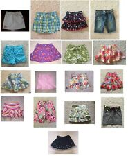 Gymboree GIRLS skirt skort shorts U CHOOSE spring summer fall winter 6 po