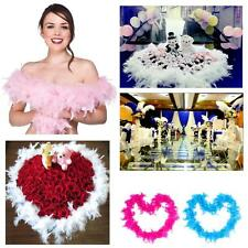 Feather Fluffy Flower Craft Costume Dress up Wedding Party Home Decoration