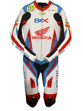 Honda Motorcycle Racing Leather Suit motoGP biker cowhise