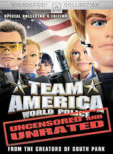Team America: World Police - (Unrated Widescreen Special Collector's Edition) T