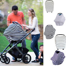 Multi-Use Stretchy Newborn /Infant Nursing Cover Baby Car Seat Canopy Cart Cover