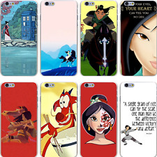 Mulan 1 2 3 Cartoon Movie Dvd Disney Hard Case Cover For iPhone Samsung Huawie