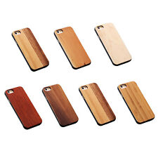 Fashion Real Wooden Case Wood + Hard PC For iPhone hot sale D5B7