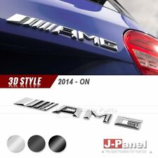 AMG REAR TRUNK BOOT LETTER EMBLEM BADGE for ALL MERCEDES BENZ 2014-ON 3 COLORS