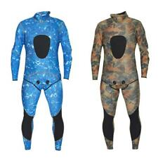 Mens two-piece set 3mm Neoprene Full Body Wetsuit Surf SCUBA Diving S - XXL