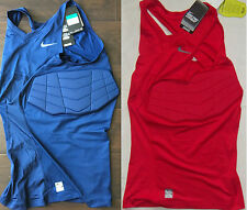 New Mens Nike Pro Combat Hyperstrong Vis Compression Basketball Tank Tall Sizes