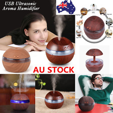 Essential Oil Diffuser LED Ultrasonic Humidifier Air Mist Aromatherapy Purifier