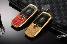A18 Classical Luxury Metal Fashion Mobile Cell phone Backup Phone Quadband