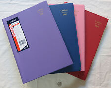 2018 Diary Collins Vanessa A4 Week To View Spiral Bound  - 4 Colour Choices