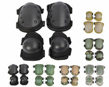 Outdoor Army Camo Military Tactical Combat Knee & Elbow Pads Cycling Skating