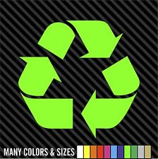 Recycle Logo #1 Vinyl Decal Sticker Work or Home Renew and Reuse SIZE & COLORS