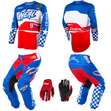 O'Neal Element Afterburner motocross MX gear - Jersey Pants Gloves Kids Combo