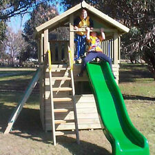 Cubby House The Lookout Fort & Cubby Timber Play house