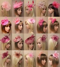 PINK FASCINATOR, WEDDING, PROM, RACES, ASCOT, OCCASION - CHOOSE - LOT