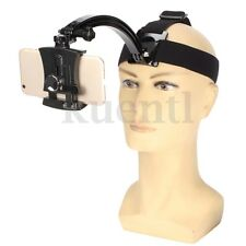 Universal Head Strap Phone Holder Elastic Adjustable Belt Cellphone Phone Mount
