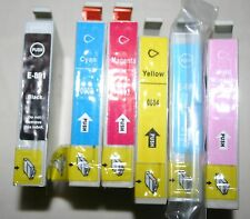 PRINTER COLOUR INKS 801-806 SUITABLE FOR  SOME EPSON PRINTERS