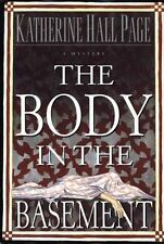 The Body in the Basement Page, Katherine Hall Hardcover
