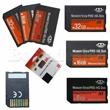 8/16/32GB Memory Stick MS Pro Duo Memory Card for Sony Game PSP Cybershot Camera