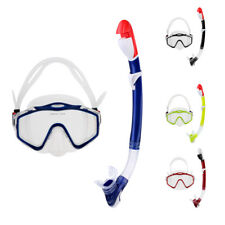 Pro Adult Scuba Dive Mask and Snorkel Set Underwater Freediving Swimming Goggles