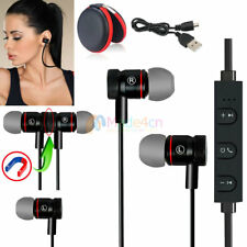 Black -MD56 Magnetic Bluetooth Handsfree Headset Earphone For Cell Phone Sony/LG
