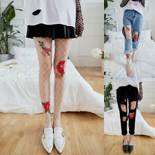 Sexy Women transparent Tights Flower fishnet Silk Stockings Lady mesh pantyhose