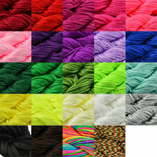 30M 1mm Nylon Cord Thread Chinese Knot Macrame Rattail Bracelet Braided String