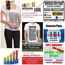 Ean Amazon Ebay Upc Numbers Barcodes Bar Code 13 Number Barcode Codes Valid Gs1