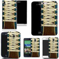hard durable case cover for iphone & other mobile phones - laces