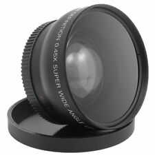 52MM 58MM 0.45x Fisheye Wide Angle Lens with Macro Lens for Nikon Camera