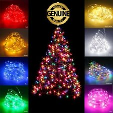 Waterproof LED String 2-10M 100 Christmas Xmas Party Fairy Lights Lamp For Tree