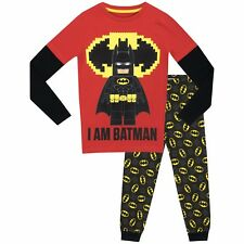 Lego Batman Pyjamas | Boys Lego Batman Pjs | Kids Lego Batman Pyjama Set