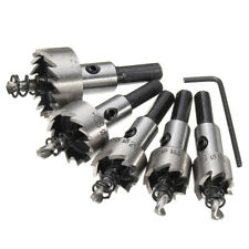 5Pcs 16-30mm Hole Saw Tooth Kit HSS Stainless Steel Alloy Drill Bit Cutter Tools
