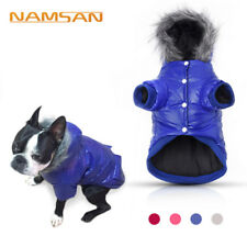 NEW Puppy Pet Dog Cat Clothes Hoodie Winter Warm Sweater Coat Costume Apparel