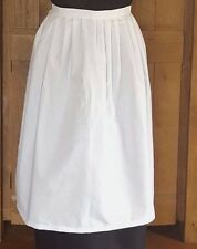 Victorian  Edwardian White Maids waist  WW1 Apron  Child's/Junior/Adult sizes