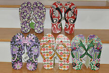 VERA BRADLEY FLIP FLOPS RETIRED COLORS YOU CHOOSE ONE-NWT-SIZE SMALL