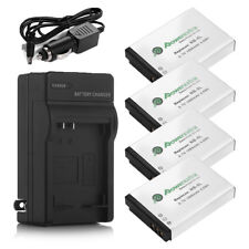 1500mAh NB-5L Battery + Charger for CANON PowerShot S100 SD790 SD890 970 IS 980