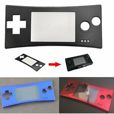 Replacement Housing Faceplate Front Case Cover for Nintendo Game Boy Micro GBM
